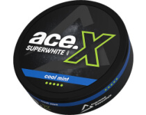 ACE X Superwhite Cool Mint SNUS
