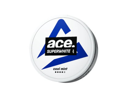 ACE Superwhite Cool Mint 18mg/g SNUS