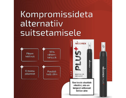 Nicorex Plus+ RED  e-sigaret