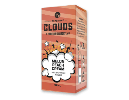 "E-liquid aroma  MELON PEACH CREAM  ""SKYsmoke Clouds"""