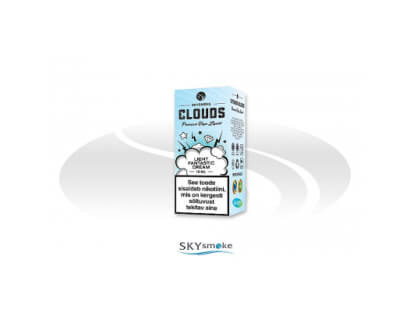 SKYsmoke CLOUDS e-liquid Light Fantastic Cream